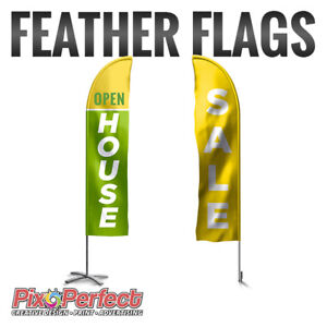★Affordable Custom Feather Flag Printing ✂$5 OFF COUPON