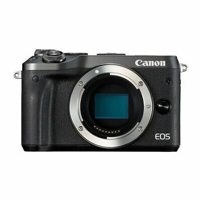 Near Mint! Canon EOS M6 Body Black - 1 year warranty