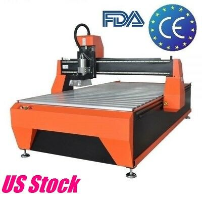 3kw Cnc Router Engraving Cutting Machine Wood Engraver Water Cooling 1300x2500mm
