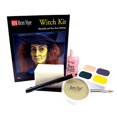Ben Nye Witch Kit Character Theatrical Stage Makeup HK-3