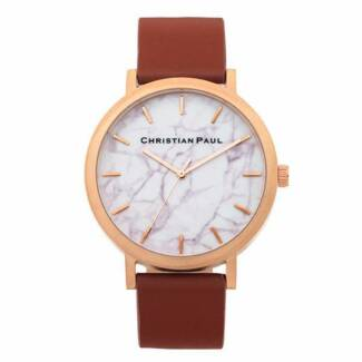Christian Paul: Rose Gold and Walnut Watch Lenah Valley Hobart City Preview