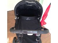 Quinny Buzz 3 with carrycot £175
