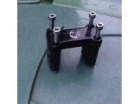 Pit bike bar clamp