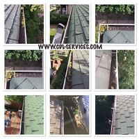 Call 780-707-7767 for Eavestrough Cleaning | SNOW REMOVAL