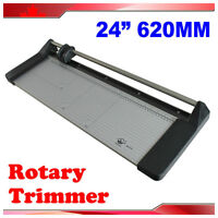24In Rotary Photo Vinyl Paper Cutter Trimmer +1 Blade #026432