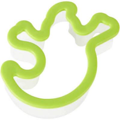 1 wilton ghost shaped cookie cutter Halloween play doh comfort grip ghostbuster - Wilton Halloween Cookies
