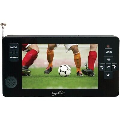 """SUPERSONIC(R) SC-143 Supersonic(R) 4.3"""" Portable Digital LED TV with USB & mi..."""
