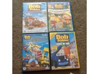 Bob the Builder DVD selection
