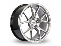 """19"""" Staggered AVA Dallas on tyres for an E90, E91, E92, E93 BMW 3 Series, Vauxhall Insignia ETC"""