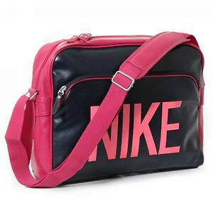 New Nike Heritage SI Track Bag/ Retro/ laptop sleeve/ hot pink/ school/ girls