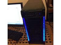 Gaming pc Amd 6300 six core 3.50 GHz with 8 GB Ram and 1000 GB Hard