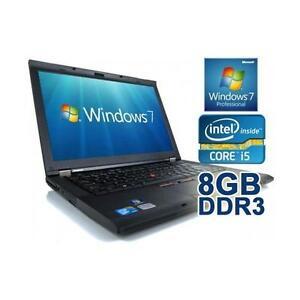 Méga Soldes: Lenovo Thinkpad T430 Core i5 (3E génération) - MEM 8GB - 320GB - WIFI – HDMI