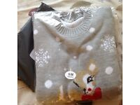 Ladies' new/never worn xmas jumper size S/M