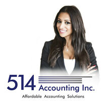 514 ACCOUNTING- WE COME TO YOU! SAVE MONEY & TIME 514 712-3851