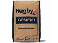 **BARGAIN ** 2 x BRAND NEW SEALED RUGBY CEMENT BAGS - 25KG BAGS
