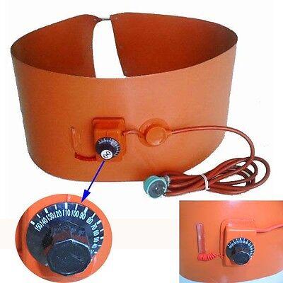 55gallon 200l Silicone Band Drum Heater Oil Biodiesel Metal Barrel 1000w 220v