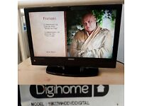 DIGIHOME 19822WHDDVD lcd tv built in dvd player
