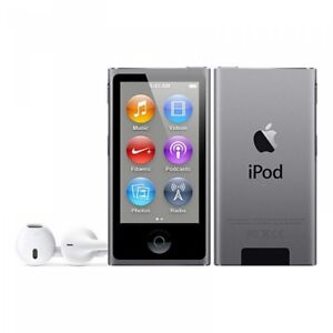 iPod Nano (New, Space Grey, 7th gen, 16 gb) and Incase Armband