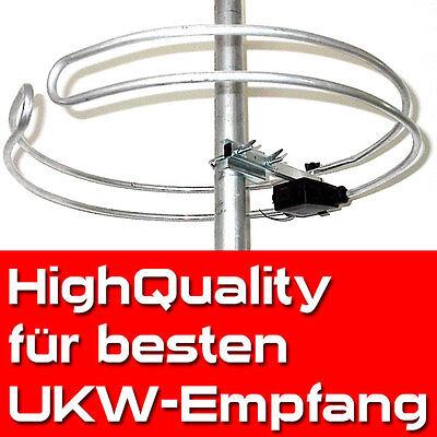 HQ Ringdipol-UKW-Antenne Runddipol Außenantenne Dachantenne Radio Empfang NEU