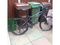 Bianchi Jab 27.2 FS full sus mountain bike Size L