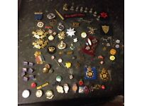 Various badges and pins sensible offers on all!