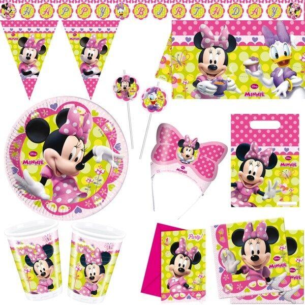 Toons Di Compleanno Minnie Mouse Festa Bambini Partito Del Mouse Set