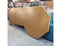 Extra Large Oak Office Desk