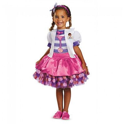 Disney Doc Mcstuffins Tutu Deluxe Girls Toddler Costume   Disguise 69812