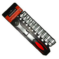 3/8 Inch 11 Pieces Socket Wrench Set, 50% Lower Than Store