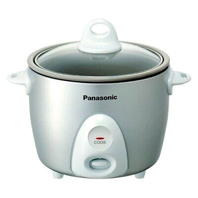 3-Cup, 1-Step Automatic Rice Cooker, Silver