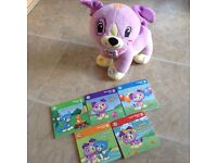 Leap frog - violet puppy interactive toy