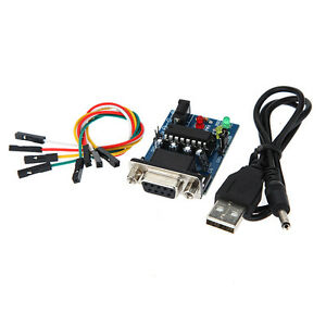 MAX232CPE-Transfer-Chip-RS232-To-TTL-Converter-Module-COM-Serial-Board-USB-Cable