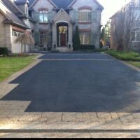 Driveway sealing only 30 cents a square foot!!