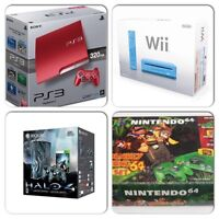 Wanted: game consoles in original box