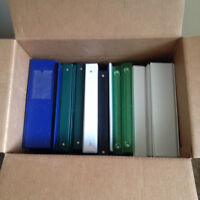 BINDERS FOR SALE !
