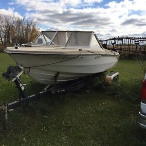 Boat and trailer to sell or trade
