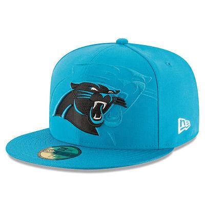 Carolina Panthers New Era NFL 2016 Sideline Official 59FIFTY Fitted Hat Carolina Panthers Fitted Hat