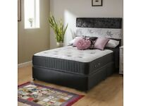 Double or kingsize 1000 pocket sprung and memory foam mattress
