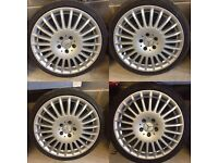 """Mercedes 18"""" Alloy Wheels and Tyres"""