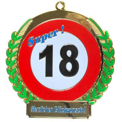 Orden zum 18. Geburtstag * Endlich 18*  Geschenk zum 18.