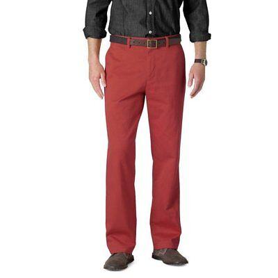 Dockers Game Day Classic Flat Front Khaki Pant Oklahoma Sooners Crimson Sz 33-36