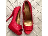 Party shoes new ! Each £5 pair size 7. B on Avon