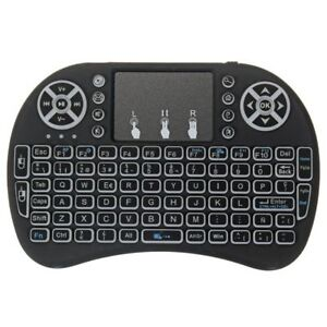 DOLAMEE BACKLIT MINI WIRLESS KB WITH TOUCH PAD