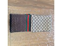 Scarfs for sale Gucci, Versace and Burberry