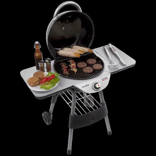 Patio Bistro Electric Grill Freestanding Griddle Outdoor Bac