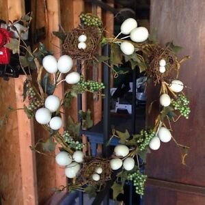 """Cute Easter Wreath, in good shape, 12"""",only $2 Kitchener / Waterloo Kitchener Area image 1"""