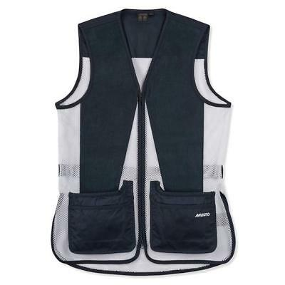 True Navy Bekleidung (Musto Competition Skeet Vest True Navy Blue White Hunting Shooting Clay Pigeon )