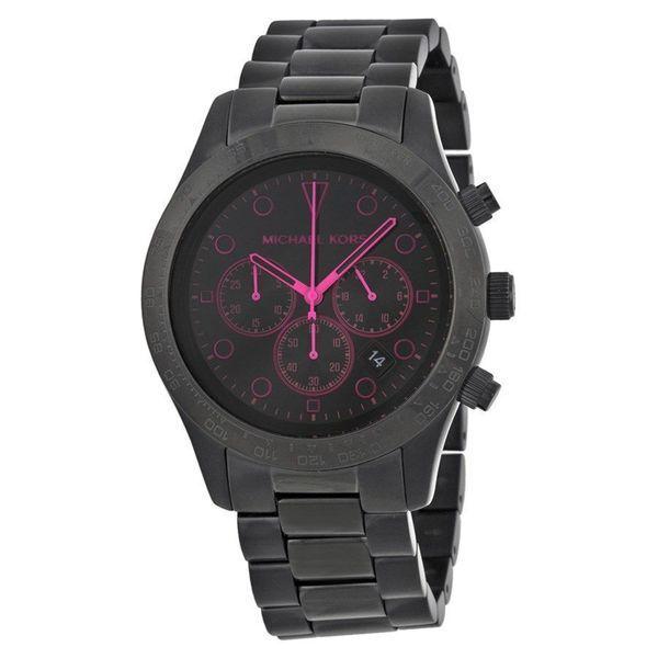 Michael Kors Women's Layton MK6082 Black Stainless-Steel Quartz Watch