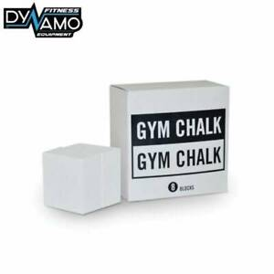 Gym Chalk Box of 8 Blocks For Weightlifting, Crossfit & Gyms NEW box