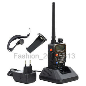 Baofeng UV-5R Plus Amateurfunk Radio CTCSS Walkie-Talkie Hand-funkgerät 2m/70cm